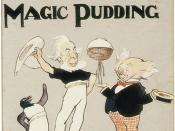 Frontispiece of The Magic Pudding
