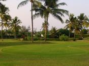 golfveld / golf course (Photo taken in Goa, India)