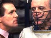 Chilton taunts Lecter in The Silence of the Lambs.