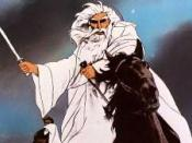 Gandalf in Ralph Bakshi's animated version of The Lord of the Rings.