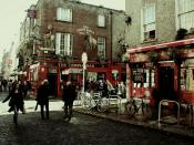English: Photograph of Temple Bar in Ireland