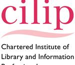 English: Logo for the Chartered Institute of Library and Information Professionals