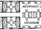 LZ 127 Graf Zeppelin gondola deck plan.