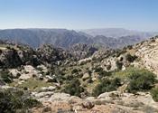 English: Landscape of Dana Biosphere Reserve, Jordan Français : Paysage de la réserve de Dana en Jordanie