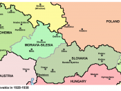 Bohemia (westernmost area) within Czechoslovakia between 1928–38