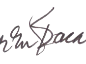 English: Lauren Bacall's signature