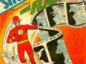 Showcase #4 (Oct. 1956), the launch of comics' Silver Age. Cover art by Carmine Infantino and Joe Kubert.