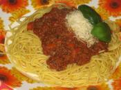 Spaghetti alla Bolognese