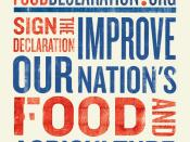 English: Logo of the Declaration for Healthy Food and Agriculture