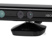 English: The Microsoft Kinect peripheral for the Xbox 360.