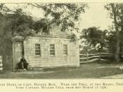 Picture of location where Tory Captain Richard Miller fell in Selden New York in 1776