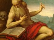 English: The Francesco St Jerome by Palma il Giovane