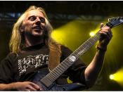 Sodom´s guitarrist Bernemann.