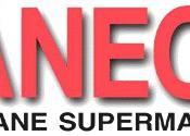 English: Laneco – Food Lane Supermarkets logo.