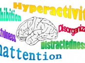 English: Symptoms of ADHD described by the literature