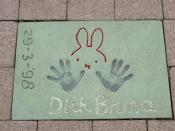 Dick Bruna - Walk of Fame, Rotterdam
