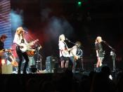 English: Dixie Chicks in Austin, TX. Photo by Ron Baker.