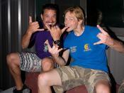 Roberto Souza + Friend / 20070811.10D.44802 / SML Skydive