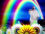 A special effect from the music video, which has become viral.