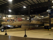 English: B-29 Superfortress used during World War II and presented at the New England Air Museum