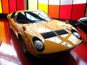 Lamborghini Miura in the Swiss Transport Museum, Luzern, Switzerland