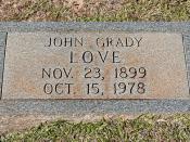John Grady Love (1899-1978)