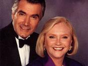 Eric & Stephanie Forrester (John McCook and Susan Flannery)