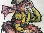 Merlin, from the Nuremberg Chronicle (1493).