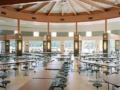 English: cafeteria