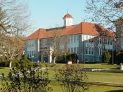 Keezell Hall, home of the university's English and Foreign Language departments