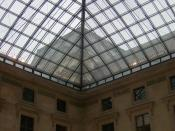 English: Glass ceiling the Louvre. Français : Musée de Louvre.