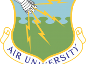 Emblem of Air University of Air Education and Training Command of the United States Air Force