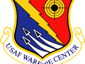 English: United States Air Force Warfare Center emblem. Made with Photoshop.