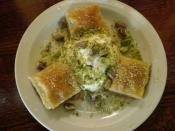 English: Turkish Baklava
