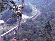 Algoma Central Railway, Agawa Canyon Lookout