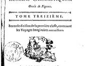 English: Cover of a 1787 book published in Amsterdam, regrouping tales of imaginary travels by Lucian of Samosata (