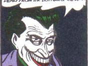 From the Joker's debut: Batman #1 (Spring 1940)
