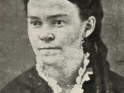 English: Carrie Nation after her marriage to David Nation on December 30, 1874.