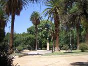 Plaza Chile - Mendoza - Argentina