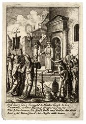 Wenceslas Hollar - Jesus before Pilate 2