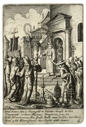 Wenceslas Hollar - Jesus before Pilate