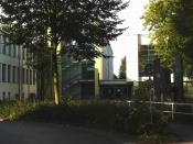 English: Peter Weiss high school Unna, Northrhine-Westphalia, Germany Deutsch: Peter-Weiss-Gesamtschule Unna, Nordrhein-Westfalen