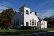English: Christian Church Disciples of Christ in Brunswick, New York, United States