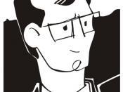 Español: Caricatura de Arturo Gómez Quijano