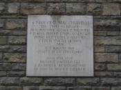 Memorial tablet for Niccolo Machiavelli in Via Guiccardini (Florence, Italy) Italiano: Lapide commemorativa di Niccolo Machiavelli nella Via Guiccardini (Firenze, Italia)