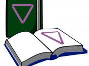 English: The Purple Poly Mobius placed on the cover and the pages of two books, to symbolize polyamorous reading material. Originally for use as a Poly Book Club online group graphic and released into the public domain.