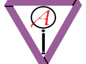 This is a symbol intended to encompass polyamory, skepticism, and atheism. There are several symbols for atheists and many symbols for polyamory, but no other symbols for skepticism. Also, there are many different groups and symbols for the intersection o