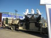 English: Akash missile at Aero India 2011