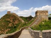 English: Great Wall of China near Jinshanling Polski: Wielki Mur Chiński w okolicy Jinshanling