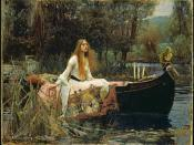 The Lady of Shalott, based on The Lady of Shalott by Alfred Lord Tennyson.